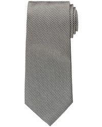 Corbata de pata de gallo en blanco y negro