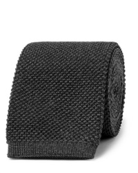 Corbata de punto en gris oscuro de The Row