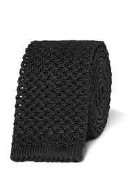 Corbata de punto negra de Tom Ford