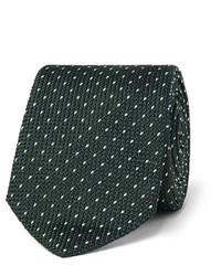 Corbata de punto verde oscuro de Paul Smith