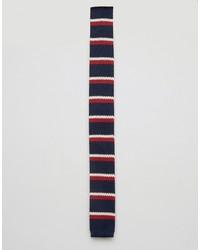 Corbata de rayas horizontales azul marino de Original Penguin