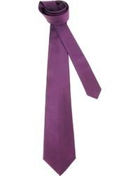 Corbata de rayas horizontales morado de Kiton