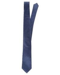 Corbata de Rayas Verticales Azul Marino de Eterna