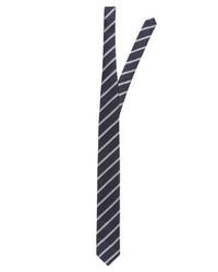 Corbata de Rayas Verticales Azul Marino de Jack & Jones