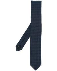 Corbata de seda azul marino de Dolce & Gabbana