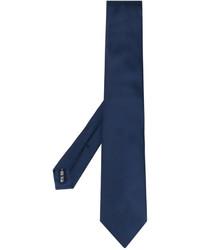 Corbata de seda azul marino de Salvatore Ferragamo