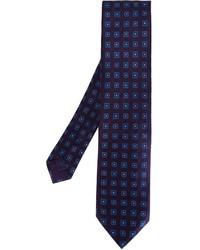 Corbata de seda azul de Brioni
