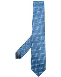 Corbata de seda azul de Cerruti