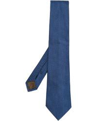 Corbata de seda azul de Church's