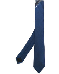 Corbata de seda azul de Givenchy