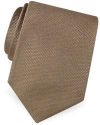 Corbata de seda en beige