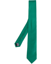Corbata de seda en verde azulado de Paul Smith