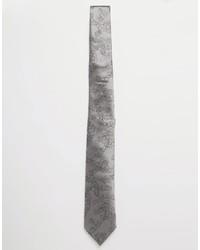 Corbata de seda gris de Vivienne Westwood