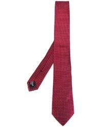 Corbata de seda roja de Armani Collezioni