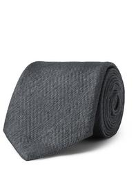 Corbata en gris oscuro de Charvet