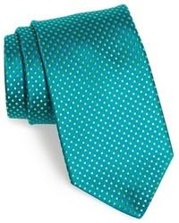 Corbata en verde azulado