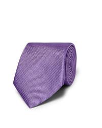 Corbata en violeta de Canali