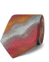 Corbata estampada en multicolor de Kingsman