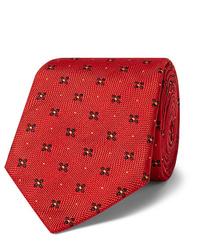 Corbata estampada roja de Kingsman