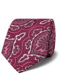 Corbata estampada rosa de Kingsman