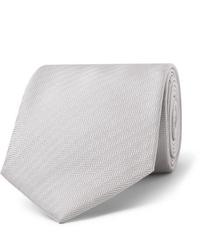 Corbata gris de Brioni