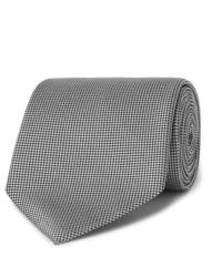 Corbata gris de Ermenegildo Zegna