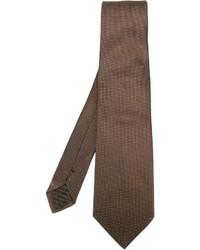 Corbata marrón de Armani Collezioni