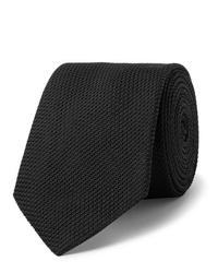 Corbata negra de Lanvin
