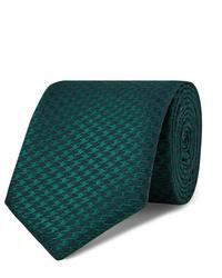 Corbata verde oscuro de Charvet