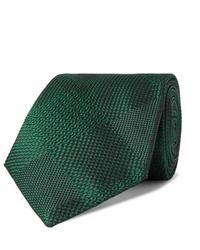 Corbata verde oscuro de Turnbull & Asser