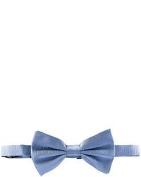 Corbatín de seda celeste de Dolce & Gabbana