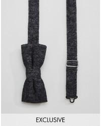 Corbatín negro de Reclaimed Vintage