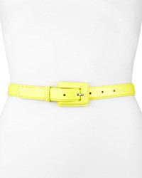 Correa amarilla