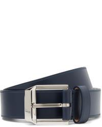 Correa de cuero azul marino de Givenchy