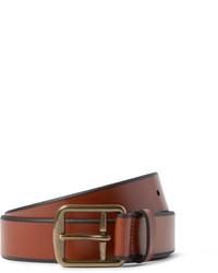 Correa de cuero marrón de Polo Ralph Lauren