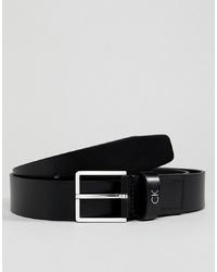 Correa de cuero negra de Calvin Klein
