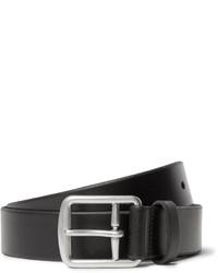 Correa de cuero negra de Polo Ralph Lauren