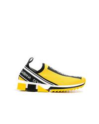 Deportivas amarillas de Dolce & Gabbana
