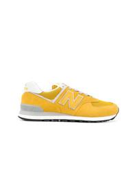 zapatillas new balance amarillas hombres