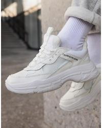Deportivas blancas de Calvin Klein