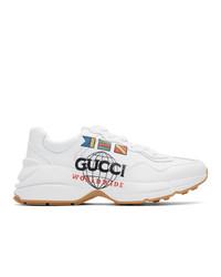 Deportivas blancas de Gucci