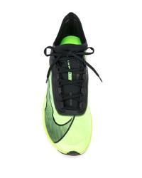 Deportivas en amarillo verdoso de Nike