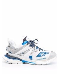 Deportivas en blanco y azul de Balenciaga