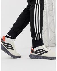 Deportivas en blanco y negro de adidas Originals