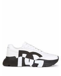 Deportivas en blanco y negro de Dolce & Gabbana
