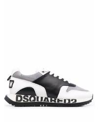 Deportivas en blanco y negro de DSQUARED2
