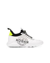 Deportivas en blanco y negro de Hogan