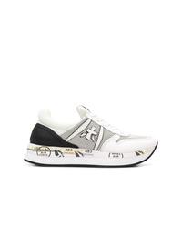 Deportivas en blanco y negro de White Premiata