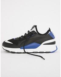 Deportivas en negro y azul de Puma