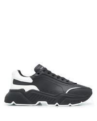 Deportivas en negro y blanco de Dolce & Gabbana